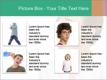 Shouting Boy PowerPoint Templates - Slide 14