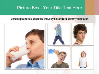 Shouting Boy PowerPoint Templates - Slide 19