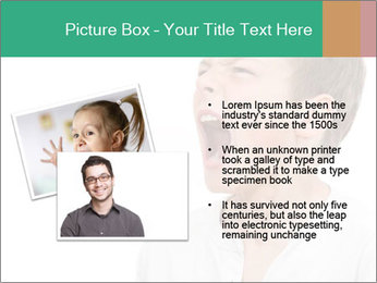 Shouting Boy PowerPoint Templates - Slide 20