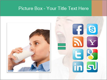 Shouting Boy PowerPoint Templates - Slide 21