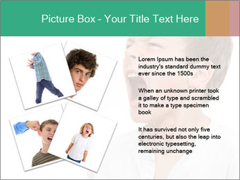 Shouting Boy PowerPoint Templates - Slide 23