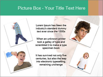 Shouting Boy PowerPoint Templates - Slide 24
