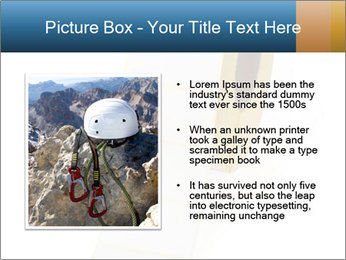 White Sticky Roll PowerPoint Template - Slide 13