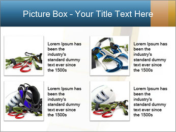 White Sticky Roll PowerPoint Template - Slide 14