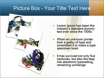 White Sticky Roll PowerPoint Template - Slide 17
