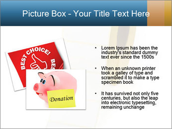 White Sticky Roll PowerPoint Template - Slide 20