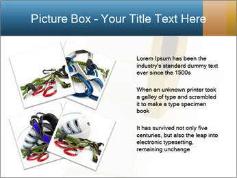 White Sticky Roll PowerPoint Template - Slide 23