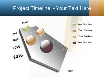 White Sticky Roll PowerPoint Template - Slide 26