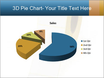 White Sticky Roll PowerPoint Template - Slide 35