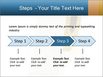White Sticky Roll PowerPoint Template - Slide 4