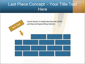 White Sticky Roll PowerPoint Template - Slide 46