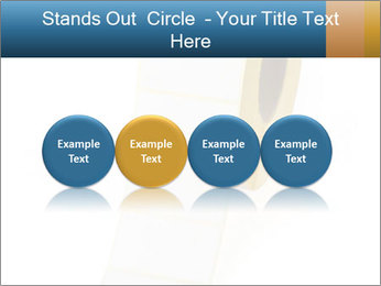 White Sticky Roll PowerPoint Template - Slide 76