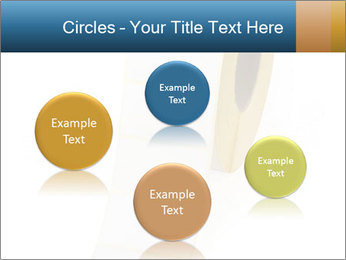 White Sticky Roll PowerPoint Template - Slide 77