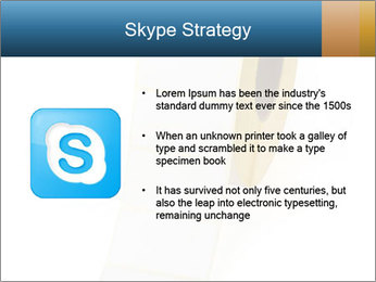 White Sticky Roll PowerPoint Template - Slide 8