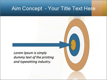 White Sticky Roll PowerPoint Template - Slide 83