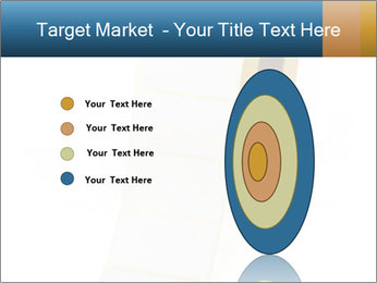 White Sticky Roll PowerPoint Template - Slide 84