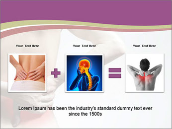 Injured Lowerback PowerPoint Template - Slide 22
