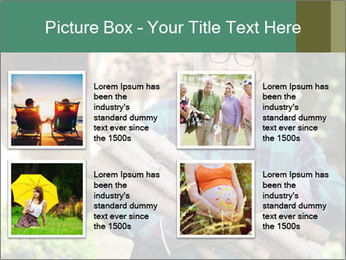 Senior woman gathering wood PowerPoint Templates - Slide 14