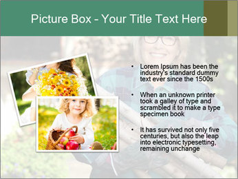 Senior woman gathering wood PowerPoint Templates - Slide 20