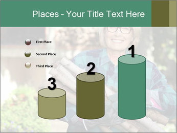 Senior woman gathering wood PowerPoint Templates - Slide 65