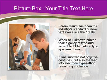 Teacher and student PowerPoint Template - Slide 13