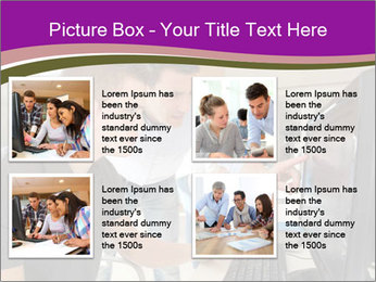 Teacher and student PowerPoint Template - Slide 14