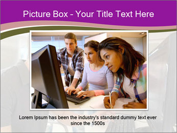 Teacher and student PowerPoint Template - Slide 15
