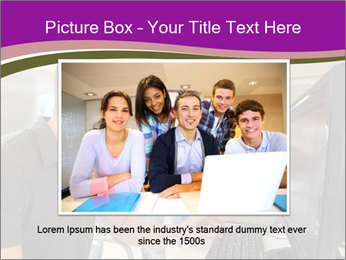 Teacher and student PowerPoint Template - Slide 16