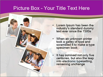 Teacher and student PowerPoint Template - Slide 17