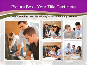 Teacher and student PowerPoint Template - Slide 19