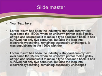 Teacher and student PowerPoint Template - Slide 2