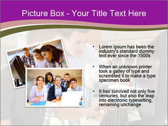 Teacher and student PowerPoint Template - Slide 20