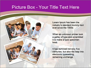 Teacher and student PowerPoint Template - Slide 23