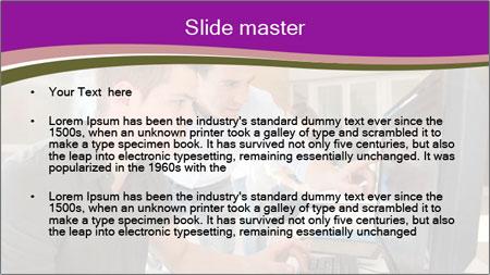 Teacher and student PowerPoint Template - Slide 2