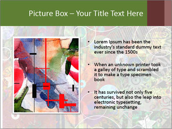 Graffiti collage PowerPoint Template - Slide 13