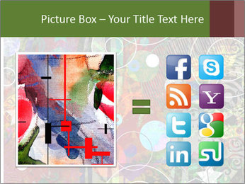 Graffiti collage PowerPoint Template - Slide 21