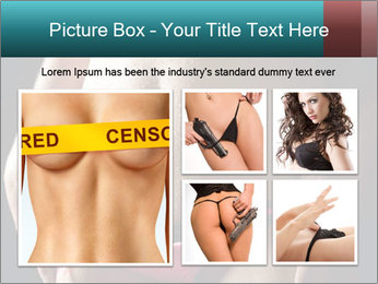 Woman Spripping PowerPoint Template - Slide 19