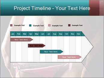 Woman Spripping PowerPoint Template - Slide 25
