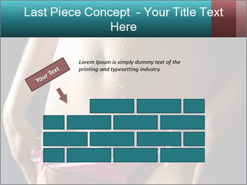 Woman Spripping PowerPoint Template - Slide 46