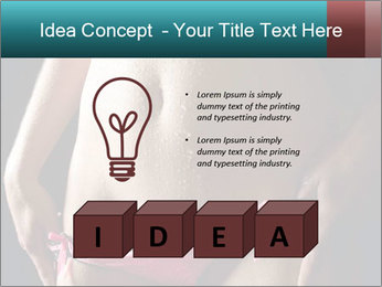 Woman Spripping PowerPoint Template - Slide 80
