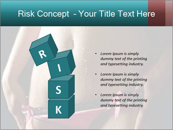 Woman Spripping PowerPoint Template - Slide 81