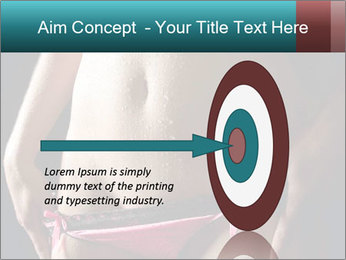 Woman Spripping PowerPoint Template - Slide 83