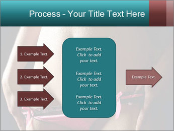 Woman Spripping PowerPoint Template - Slide 85