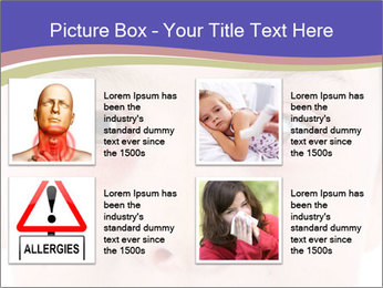 Boy Has Itchy Eyes PowerPoint Templates - Slide 14