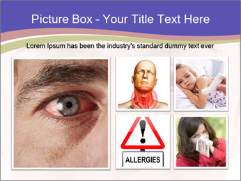 Boy Has Itchy Eyes PowerPoint Templates - Slide 19