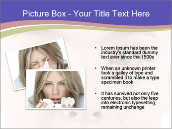 Boy Has Itchy Eyes PowerPoint Templates - Slide 20