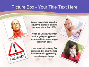 Boy Has Itchy Eyes PowerPoint Templates - Slide 24