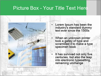 City Sketch PowerPoint Template - Slide 13