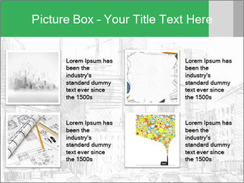 City Sketch PowerPoint Template - Slide 14