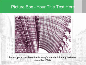City Sketch PowerPoint Template - Slide 16